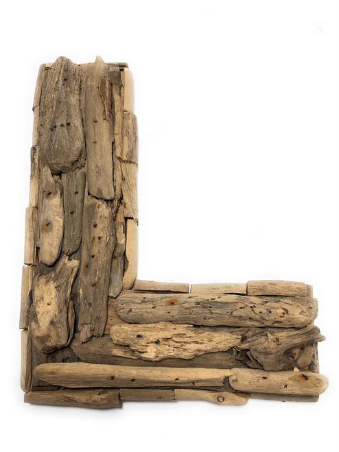 """L"" Driftwood Letter 10"" Home Decor - Rustic Accents | #lis31001l"