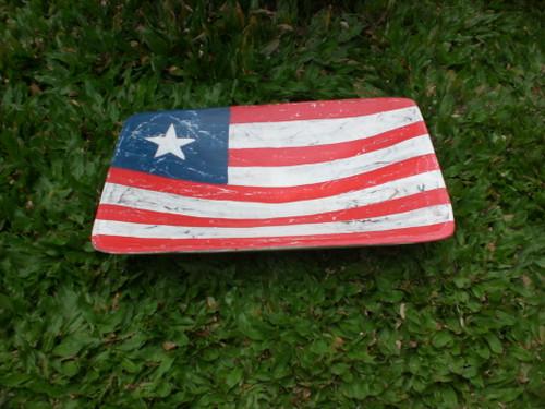 "Wooden Fruit Plate 12"" - Americana Decor"