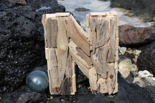 """""""N"""" Driftwood Letter 10"""" Home Decor"""