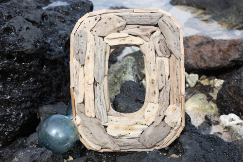 """O"" Driftwood Letter 10"" Home Decor"