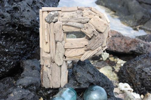 """""""P"""" Driftwood Letter 10"""" Home Decor"""