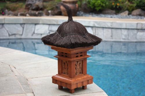 "BALINESE OUTDOOR LANTERN - 20"" OUTDOOR LIGHT 2"