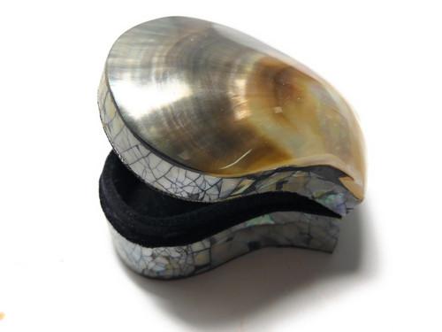 Seashell Keepsake Box Small - Gold & Silver - Coastal Decor | #sur28003