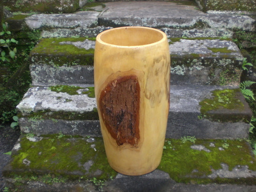 Tamarin Wood Jar Designer Large - Home Decor 2