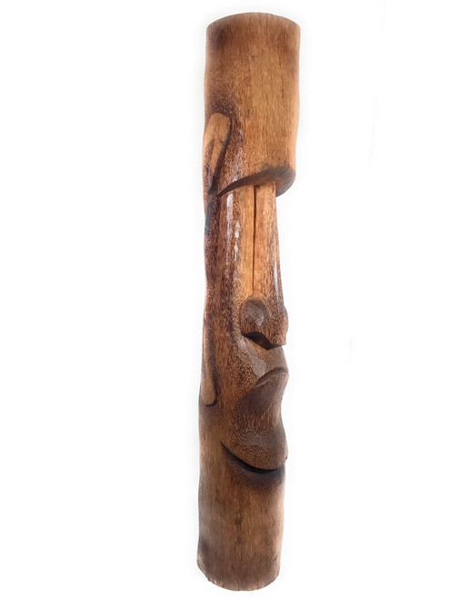 "Easter Island Tiki 60"" - Hand Carved Hawaii 