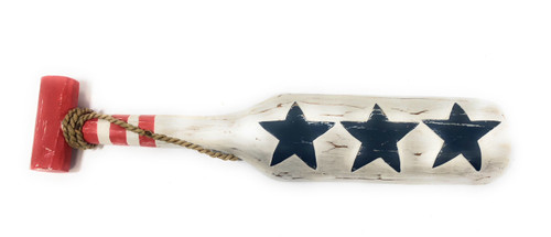 "Texas Americana Oar/Paddle 20"" - USA Flag Theme 