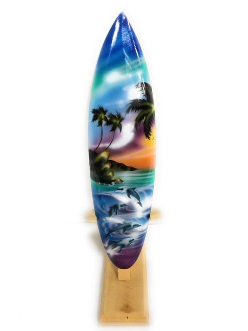"Surfboard w/ Stand Island Lifestyle Design 12"" - Trophy | #lea03j30"