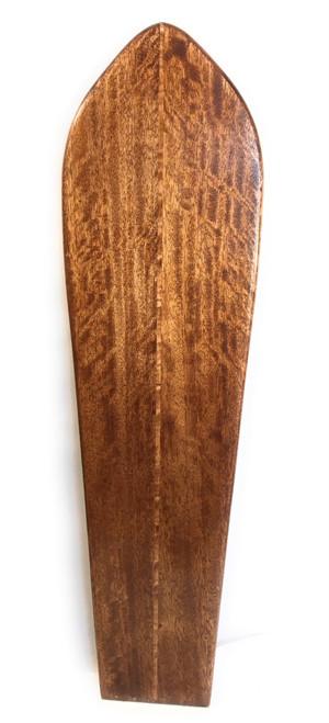 "Wooden Surfboard w/ Stringer 51"" X 13.5"" Hawaiian Vintage | #koalb12"