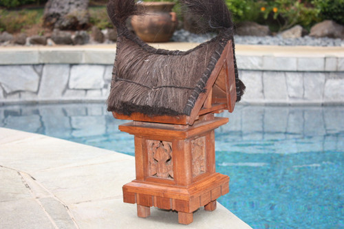 "TRADITIONAL BALINESE OUTDOOR LANTERN - 25"" OUTDOOR LIGHT 2"