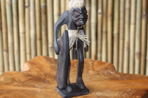"CRAZY TIKI DUDE ""LONGBOARD BEACH STAND"" - PRIMITIVE DECOR"