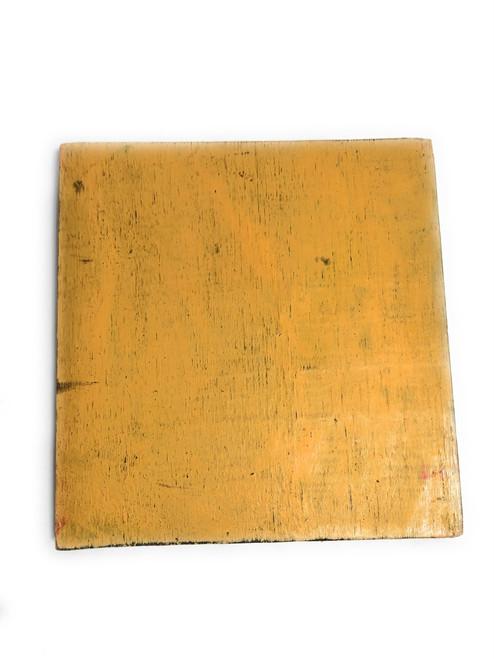 """Q Nautical Alphabet Wooden Plaque 7"""" X 7"""" - Coastal Decor   #skn16017q"""