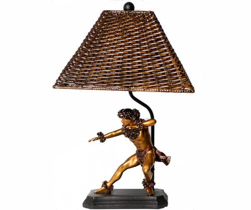 "Kane Kahiko ""Ancient Hula"" Lamp 24"" By Kim Taylor Reece | #ktr696933136901"
