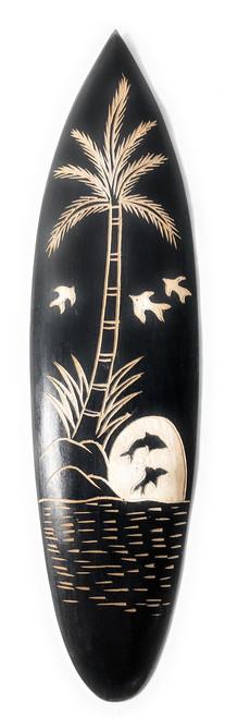 "Surfboard w/ Hawaiian Scene 16"" | #pds2300840"