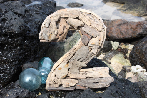 """""""2"""" Driftwood Number 10"""" Home Decor"""