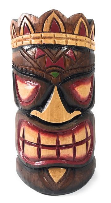 "Smiley Tiki Mask 8"" - Ohana Polynesian Art   #ksa902520"