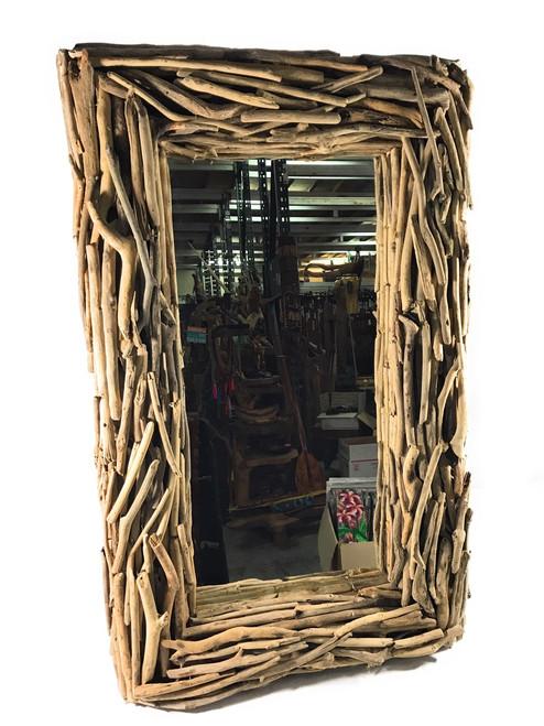 "Driftwood Mirror 40"" X 24"" - Coastal Living | #lis31005c"