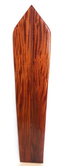 "Replica Vintage Wooden Longboard 59"" X 12"" Hawaiian Vintage | #koalb2"