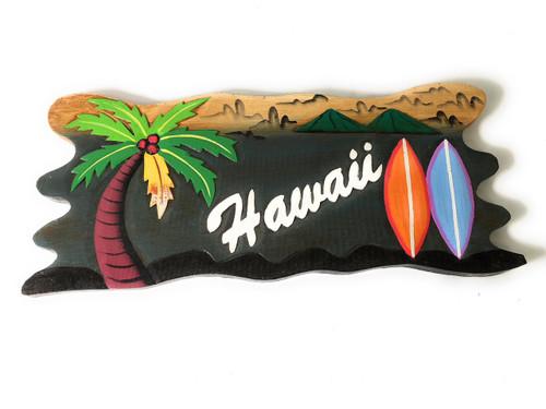 "Lanikai, Mokuluas Islands Sign 20"" - Decorative Surf Decor | #snd2505050"