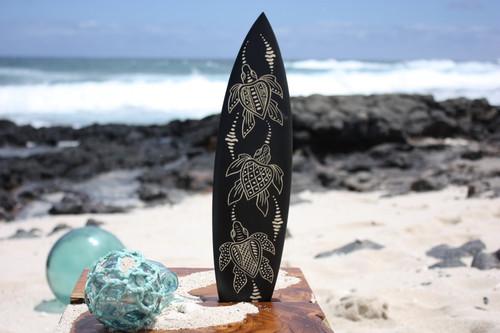 """Surfboard w/ Turtle Ohana 16"""" - Trophy"""