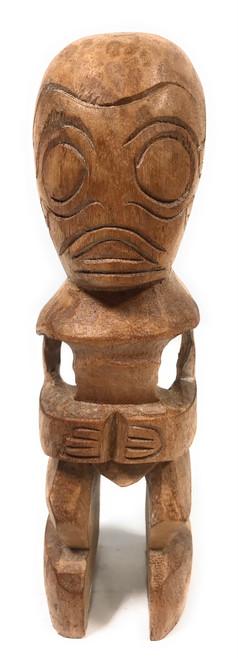 """Fisherman's Good Luck Tiki Totem 8"""" Natural   #Yda1102520"""