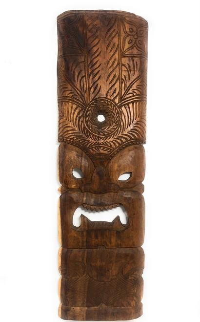 "Premium Kane Tiki Mask 36"" - Monkeypod Hand Carved   #rti200690n"