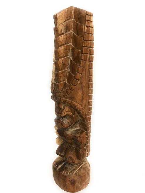 "Tiki Kona Style Lono 20"" - Natural Hawaii Museum Replica   #yda1103250n"