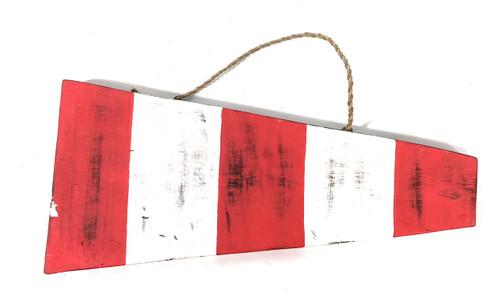 "#00 Nautical Numerical Flag 12"" - Wood Panel   #skn1602100"