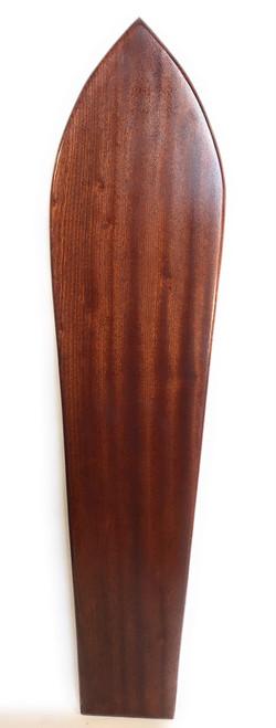 "Replica Vintage Wooden Surfboard 60.5"" X 13.5"" Hawaiian Heritage | #koalb5"