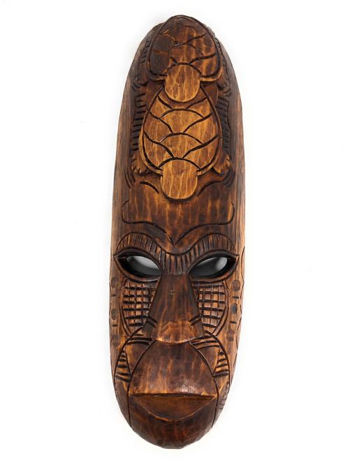 "Fijian Tiki Mask 20"" - Love & Prosperity - Oceanic Art 