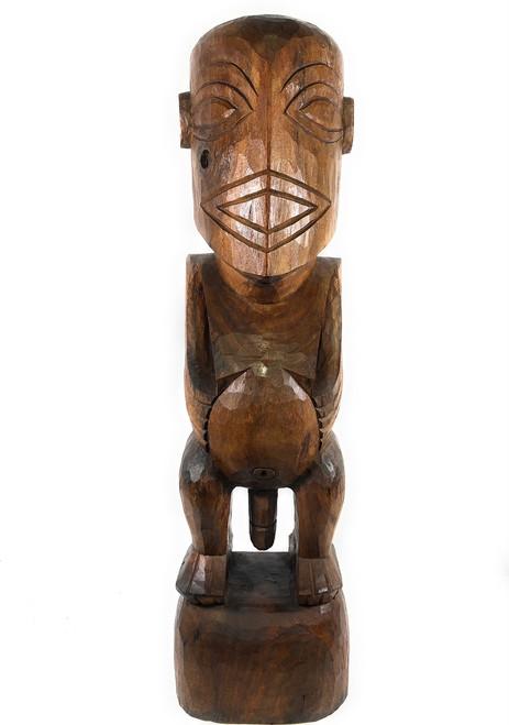 "Tiki Lono ""Fisherman"" 48"" - Outdoor Statue | #rtg1001120b"