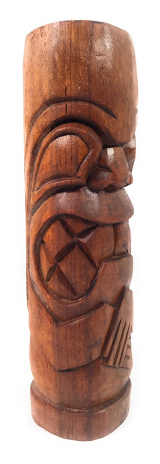 "Kailua Tiki Totem 12"" Stained - Tropical Decor | #Yda1100930b"
