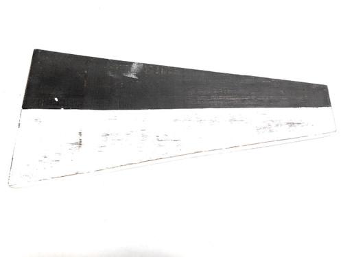 "6 Nautical Numerical Flag 12"" Wood Plaque - Coastal Decor | #skn160226"