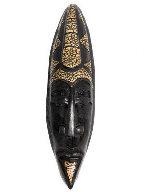 "Supreme Big Chief Tribal Mask 20"" - Primitive Wall Decor   #nmk220750"