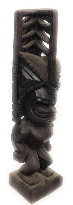 "Tiki Akua 20"" - Walnut Stain - Hawaii Museum Replica 