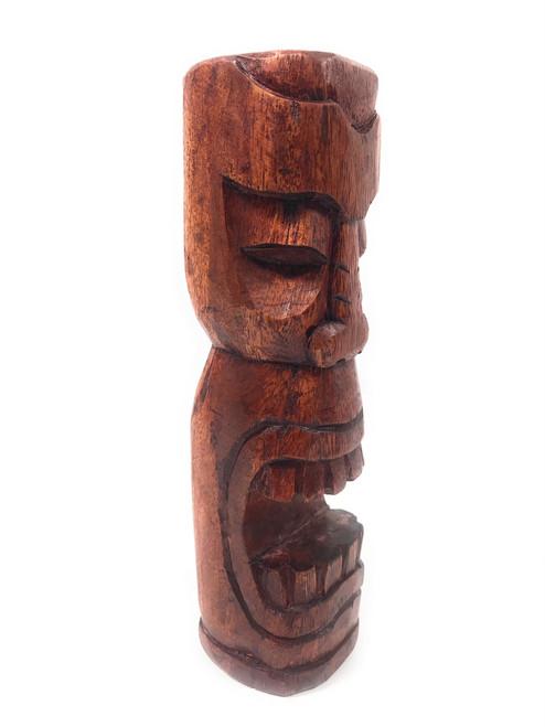 "Makaha Tiki Totem 8"" Stained - Hawaiian Tiki Bar Decor | #yda1101120b"