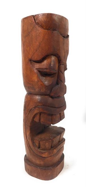 "Makaha Tiki Totem 12"" Stained - Prosperity Tiki | #yda1101130b"