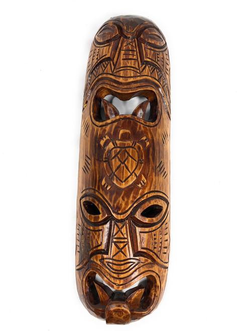 "Fijian Tiki Mask 20"" - Abundance & Happiness | #mdr1900250"