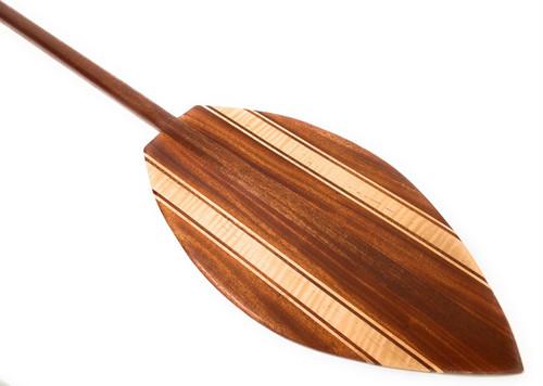 "Alii Design Koa Canoe Paddle 60"" Steersman - Made in Hawaii | #KOAM005"