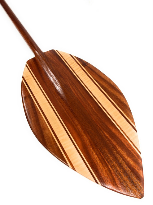 "Alii Design Koa Canoe Paddle 60"" Steersman - Made in Hawaii 