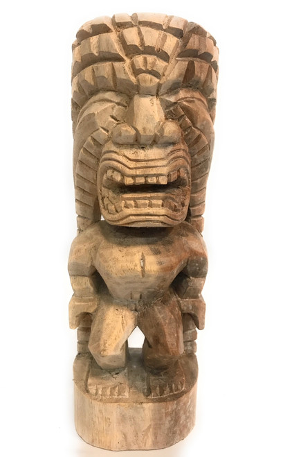 "Kuka Ilimoku Figure Tiki 12"" - Hawaiian Museum Replica | #yda1103130n"