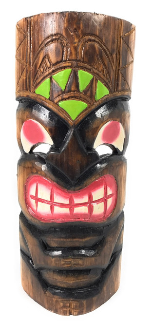 "Smiley Tiki Mask 12"" - Happy Tiki Idol 