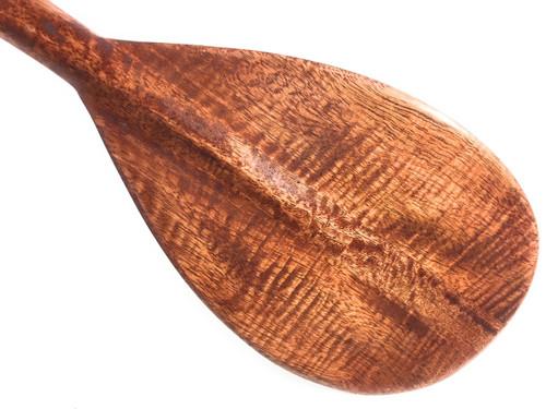 "Blonde Curly Koa Paddle 36"" Trophy - Made In Hawaii | #koa6067"