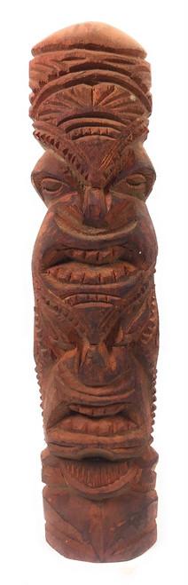 "Love/Prosperity Tiki Totem 14"" Hibiscus Wood - Made In Hawaii | #poko16"