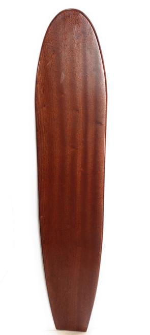 "Replica Vintage Wooden Longboard 60"" X 12"" Hawaiian Heritage | #koalb22"