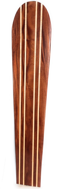 "Koa Surfboard Quadruple Stringer 78"" X 16"" Hawaiian Vintage | #koalb26"