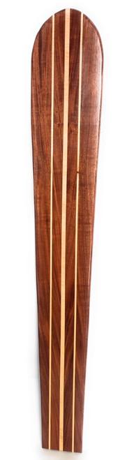 "Koa Surfboard Triple Stringer 72"" X 12"" Hawaiian Vintage | #koalb29"