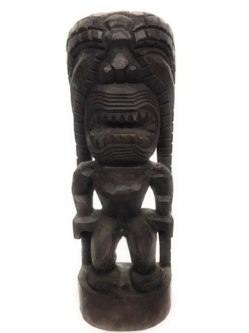 "Kanaloa Tiki 16"" - Traditional Hawaii Museum Replica 