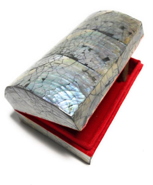Seashell Keepsake Box Large - Black - Coastal Decor | #frs27007bl