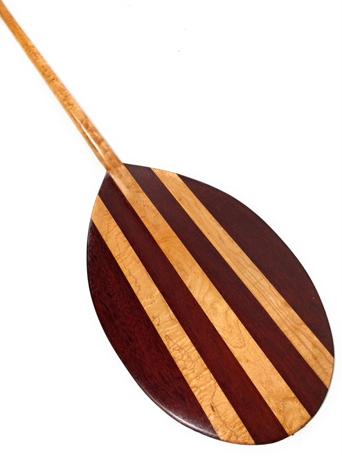 "Purple Heart Paddle w/ Maple Inlays 60"" Decorative - Made in Hawaii 