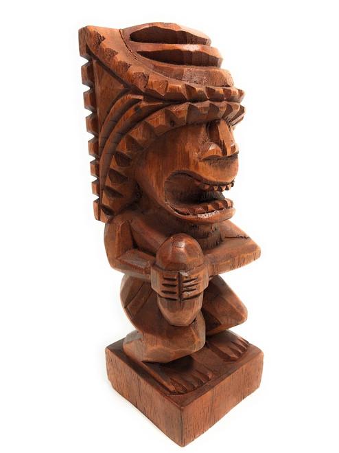 "Tiki Flag Football Trophy 8"" - Kane Hand Carved Sporting Event   #blatff2018"